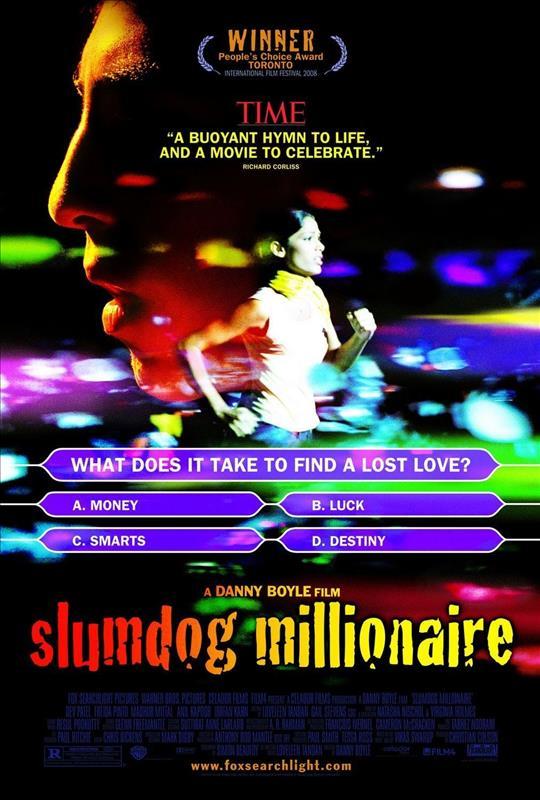 Affisch för Slumdog Millionaire