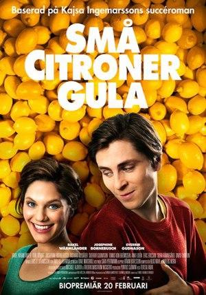 Affisch för Små Citroner Gula