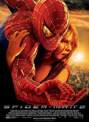 Affisch för Spider-Man 2