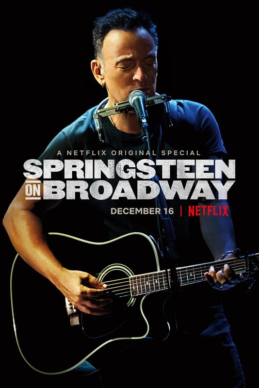 Affisch för Springsteen On Broadway