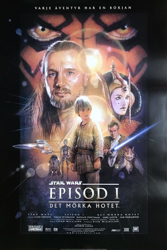 Star Wars: Episod I - Det Mörka Hotet