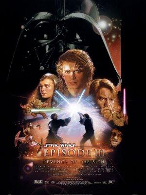 Affisch för Star Wars: Episod III - Mörkrets Hämnd