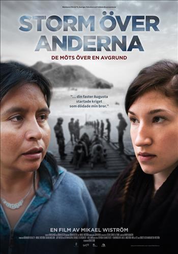 Affisch för Storm Över Anderna
