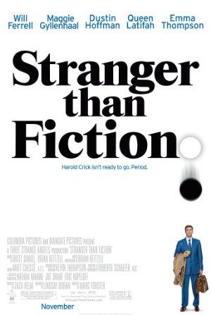 Affisch för Stranger Than Fiction