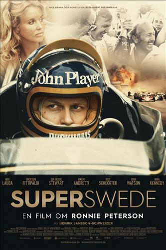 Affisch för Superswede: En Film Om Ronnie Peterson