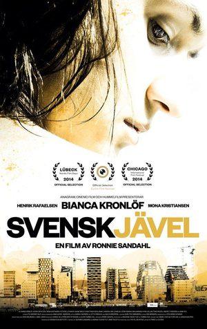 Affisch för Svenskjävel
