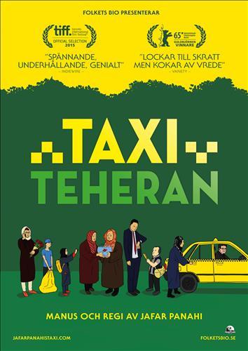Affisch för Taxi Teheran