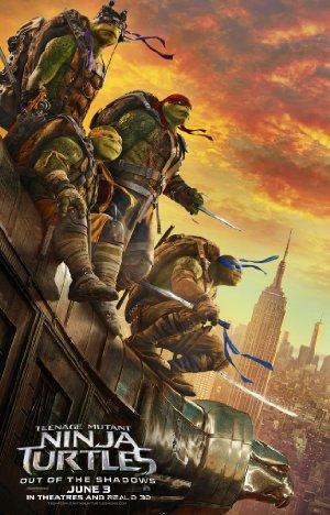 Affisch för Teenage Mutant Ninja Turtles 2