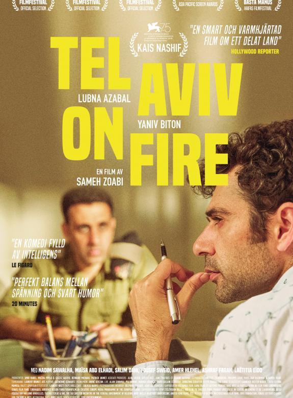 Affisch för Tel Aviv On Fire