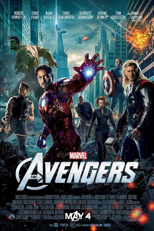 Affisch för The Avengers