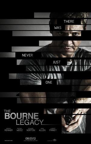 Affisch för The Bourne Legacy