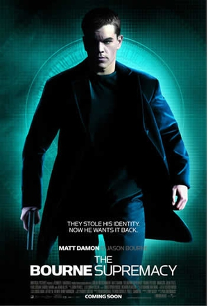 Affisch för The Bourne Supremacy