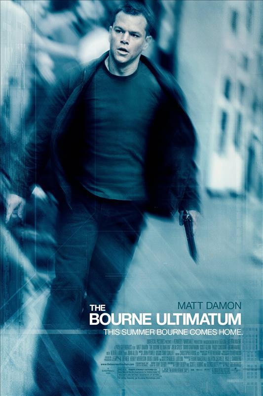 Affisch för The Bourne Ultimatum