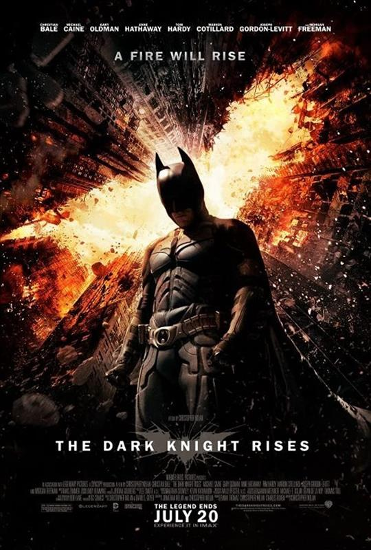 Affisch för The Dark Knight Rises