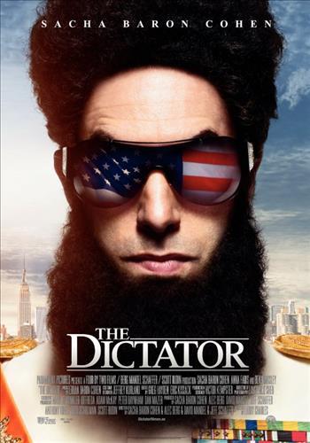 Affisch för The Dictator