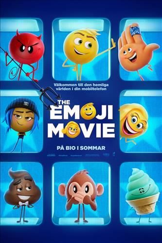 Affisch för The Emoji Movie