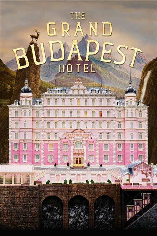 Affisch för The Grand Budapest Hotel