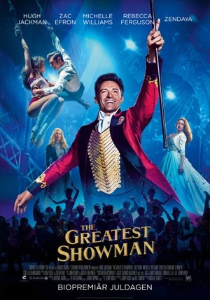 Affisch för The Greatest Showman