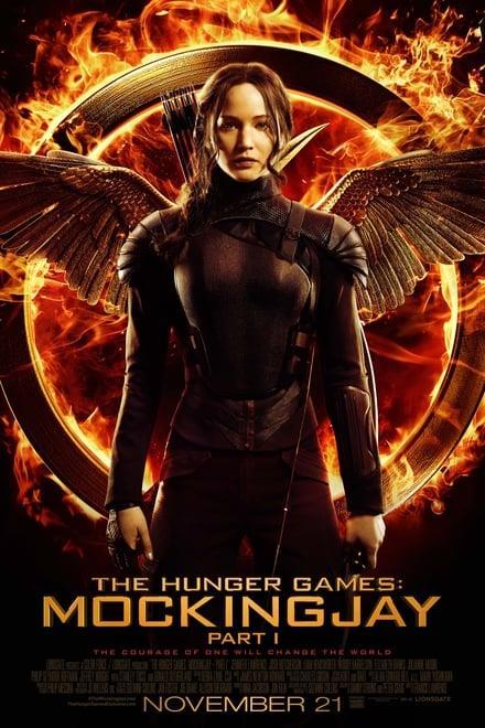 Affisch för The Hunger Games: Mockingjay - Part 1