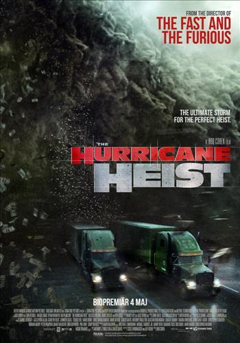 Affisch för The Hurricane Heist