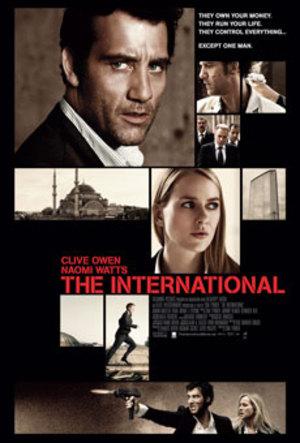 Affisch för The International