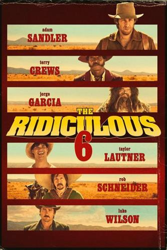 Affisch för The Ridiculous 6