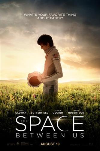 Affisch för The Space Between Us