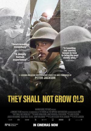 Affisch för They Shall Not Grow Old