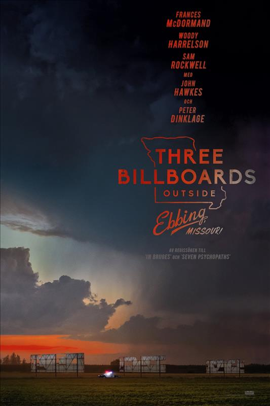 Affisch för Three Billboards Outside Ebbing, Missouri
