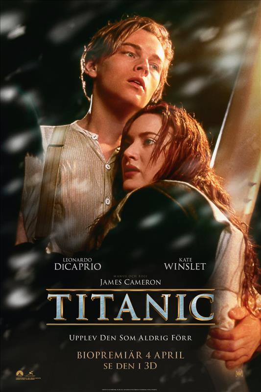 Affisch för Titanic
