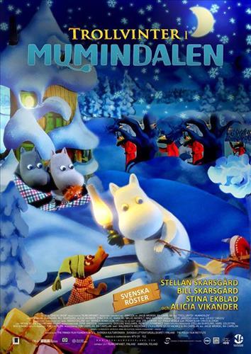Affisch för Trollvinter i Mumindalen