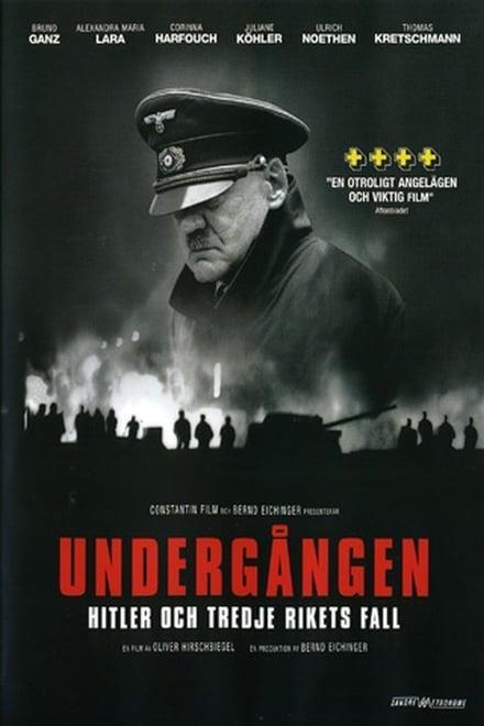 Affisch för Undergången - Hitler Och Tredje Rikets Fall