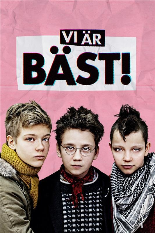 Affisch för Vi Är Bäst!