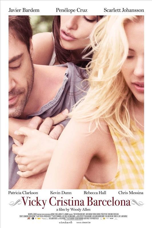 Affisch för Vicky Cristina Barcelona