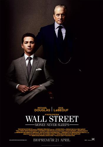 Affisch för Wall Street: Money Never Sleeps