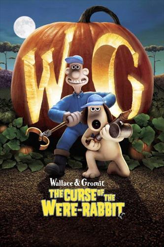Affisch för Wallace & Gromit - Varulvskaninens Förbannelse