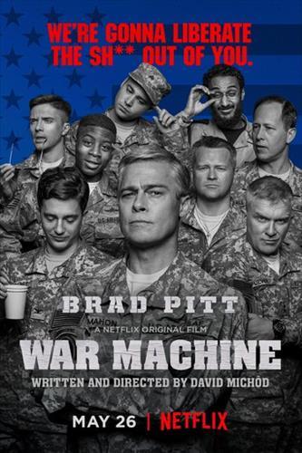 Affisch för War Machine