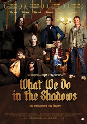 Affisch för What We Do In The Shadows