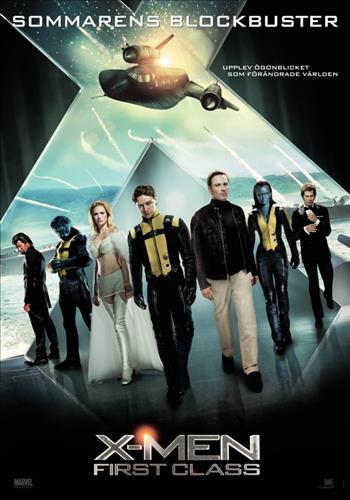 Affisch för X-Men: First Class