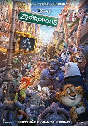Affisch för Zootropolis