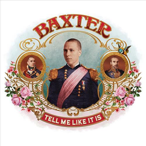 Skivomslag för Baxter: Tell Me Like It Is