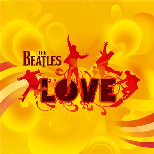 Skivomslag för Beatles: Love
