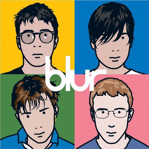 Skivomslag för Blur: The Best Of Blur