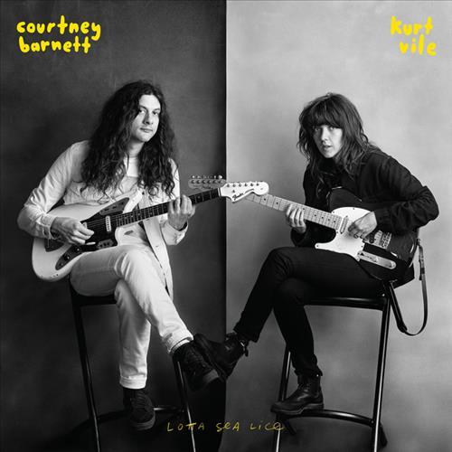 Skivomslag för Courtney Barnett & Kurt Vile: Lotta Sea Lice