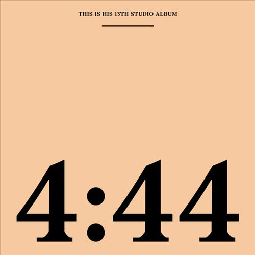 Skivomslag för Jay-Z: 4:44
