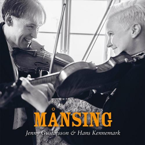 Skivomslag för Jenny Gustafsson & Hans Kennemark: Månsing