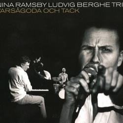 Skivomslag för Nina Ramsby & Ludvig Berghe Trio: Varsågoda Och Tack