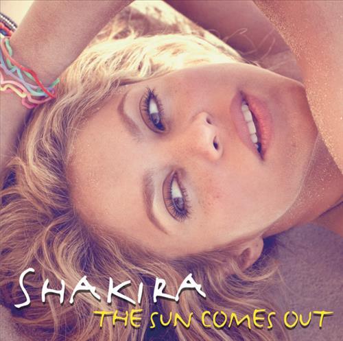 Skivomslag för Shakira: The Sun Comes Out