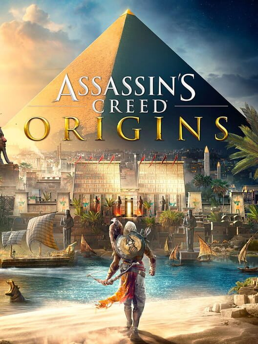 Omslag för Assassin's Creed: Origins