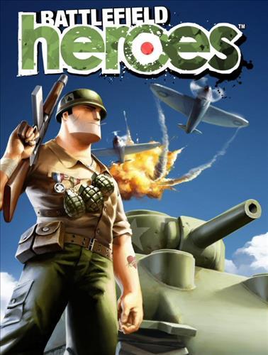 Omslag för Battlefield Heroes